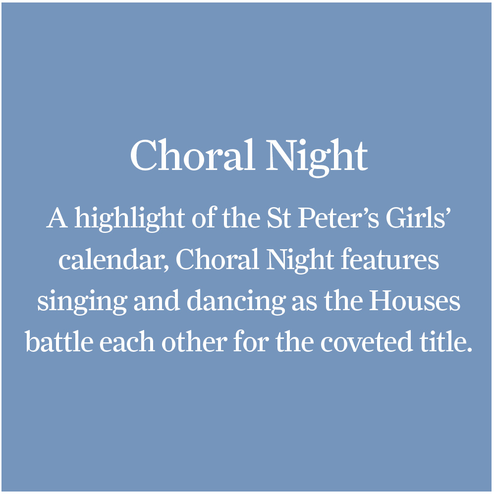 Choral Night – St Peter's Girls' School