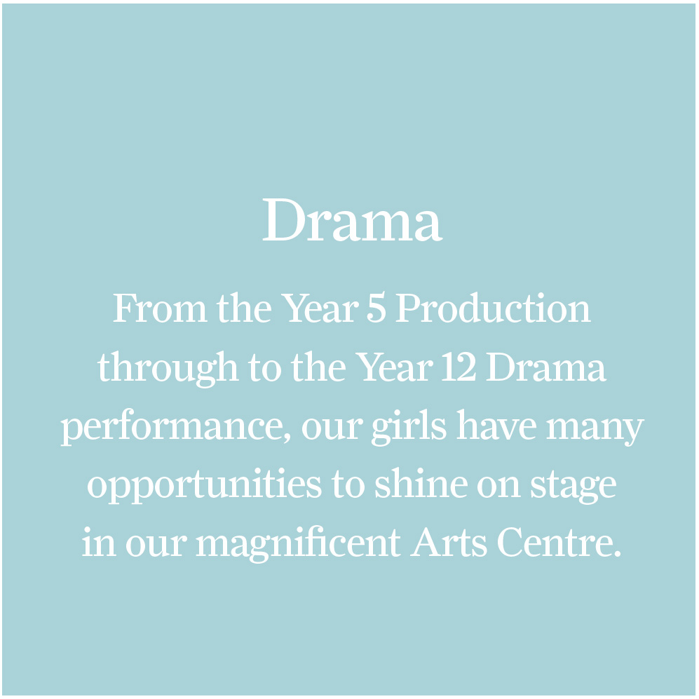 Drama – St Peter's Girls' School