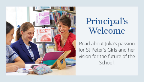 Home Page Principal's Welcome