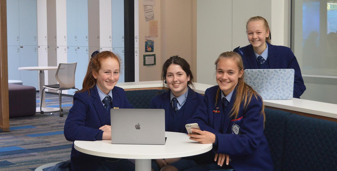 Saints Girls' National Tech Heroes