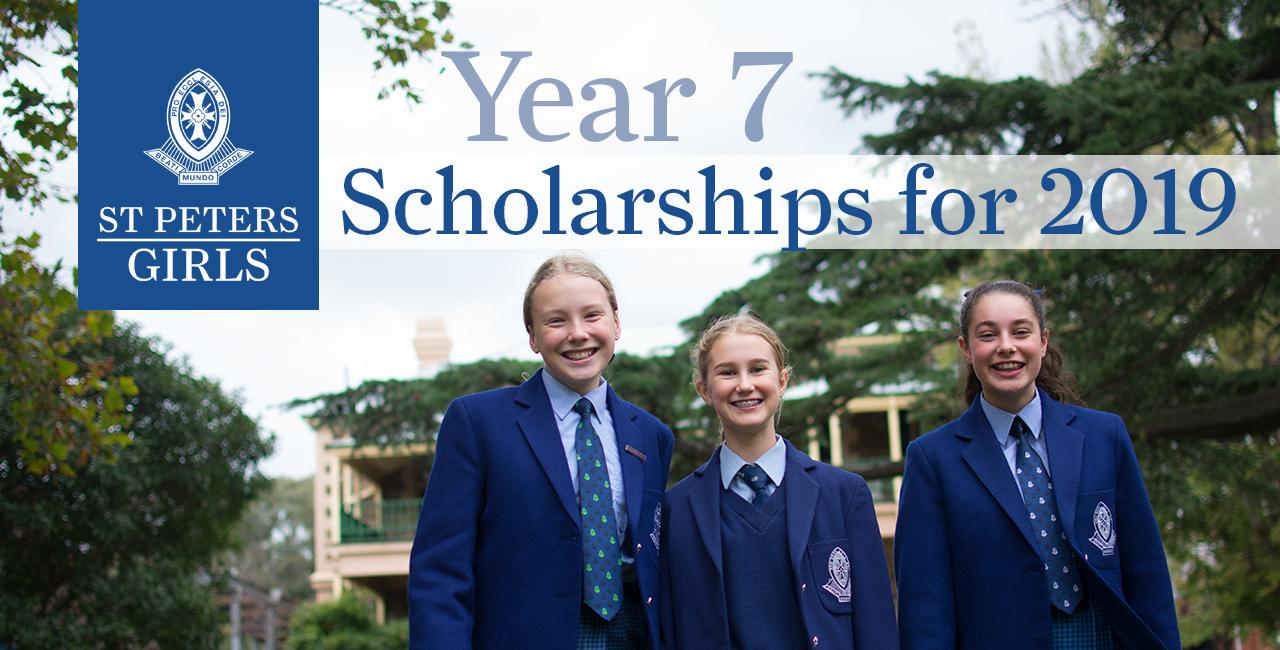 Website - Year 7 Scholarships
