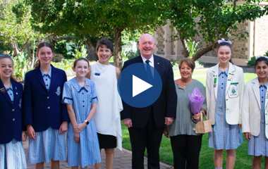 Governor-General Visit Video Tile