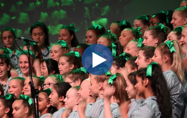 Choral Night Video Tile