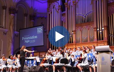 Video Tile – Presentation Night