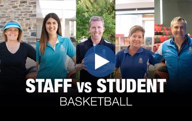 Staff vs Student Basketball